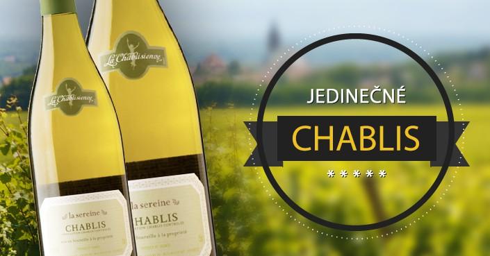Francúzsko ponúka jedinečné víno z oblasti Chablis