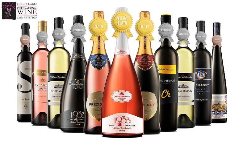 3 zlaté medaily pre vinárstvo Chateau Topoľčianky zo súťaže Finger Lakes Wine Competition - USA