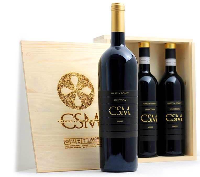 CSM - Cabernet Sauvignon Merlot, exkluzívna edícia z vinárstva Mavín - Martin Pomfy prichádza na trh.