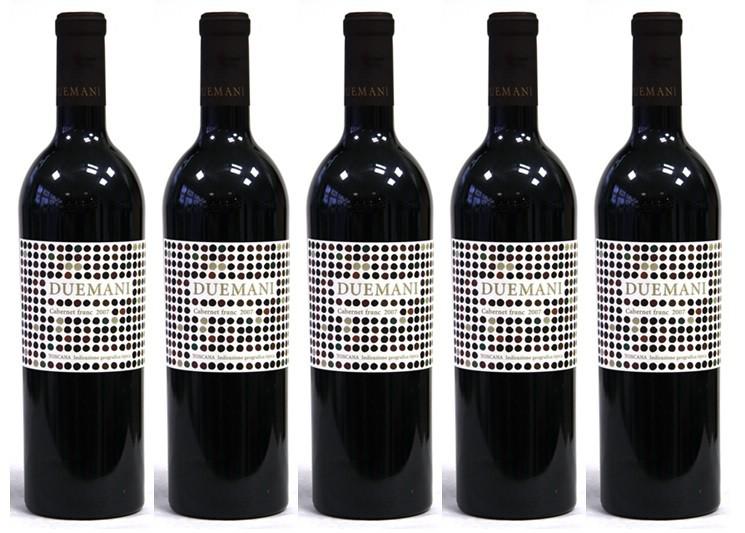 Talianske vinárstvo Duemani získalo od Wine Advocate - Robert Parker mimoriadne dobré hodnotenia.