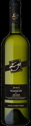 Šampión Salonu vín České republiky 2015 | Rulandské bílé Ego75, VZH 2013 | Zámecké vinařství Bzenec
