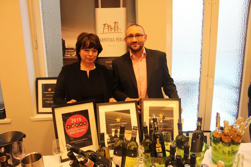 Galadegustácia medailových vín súťaže Prague Wine Trophy aj s Karpatskou perlou