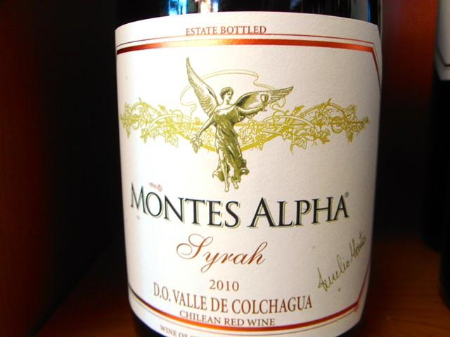 Syrah z vinárstva MONTES dostal významné hodnotenie od Wine Spectatora