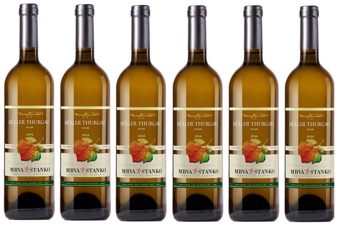 Zlatá medaila pre vinárstvo Mrva & Stanko zo súťaže BACCHUS 2015