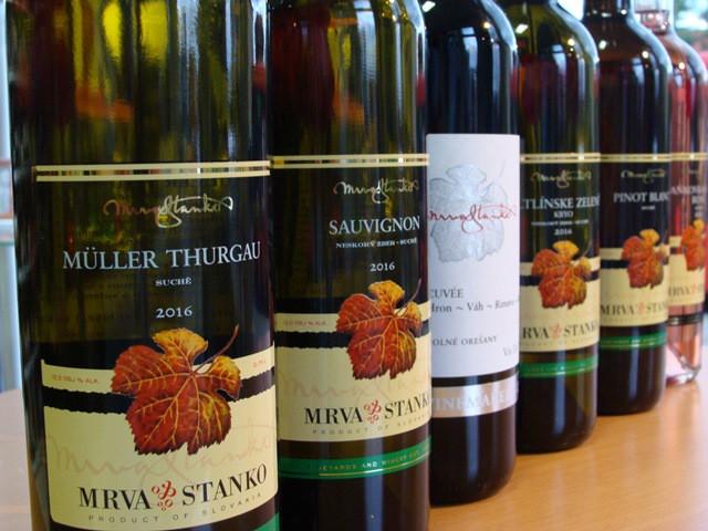 8 vín z vinárstva Mrva & Stanko v Národnom salóne vín 2017