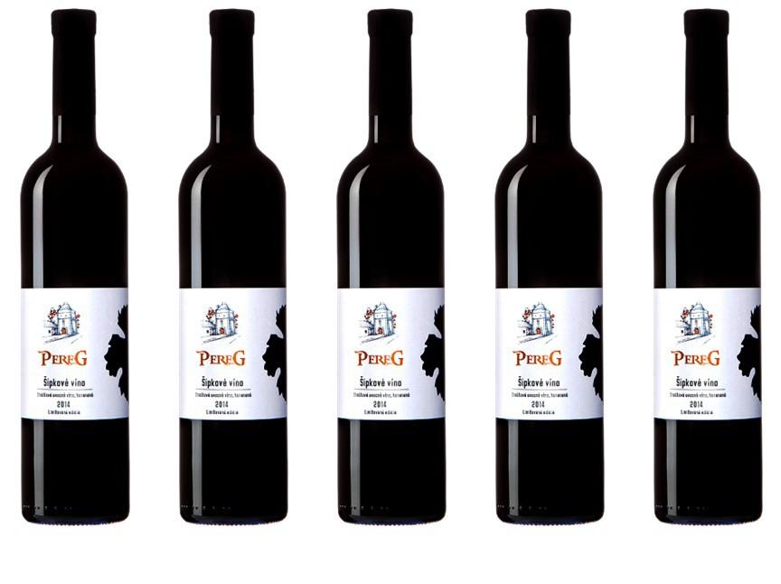 Novinka - Šípkové víno z vinárstva Pereg Modra prichádza na náš trh