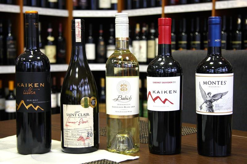 Degustácia vína | Nový Zéland , Argentína , Čile | IN MEDIO Bratislava | piatok 24.04.2015