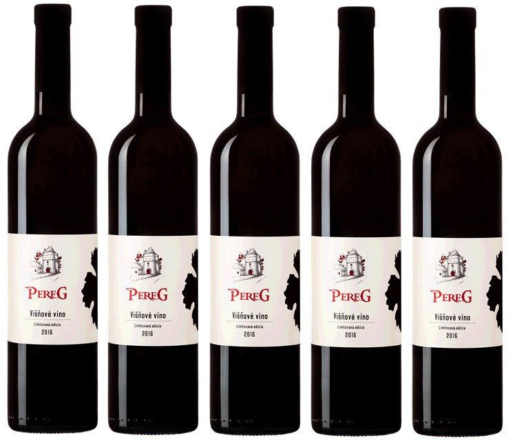Ochutnajte novinku z vinárstva Pereg Višňové víno.