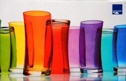 Sada pohárov Leonardo Swing fialová 400ml, 6ks