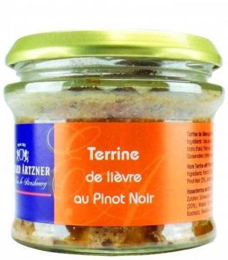 Terrine de Liévre au vin Terina zo zajaca s vínom Artzner 180g