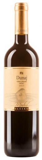 DUNAJ ELESKO akostné červené víno suché, obj. 0,75 L, Alk. 13 % obj.