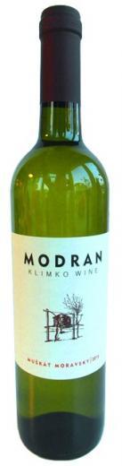 VYPREDANÉ - MUŠKÁT MORAVSKÝ 2016 MODRAN Klimko wine biele suché víno, obj. 0,75 L, Alk. 12,5 % obj.