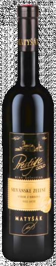 VYPREDANÉ -SILVÁNSKE ZELENÉ 2015 Víno Matyšák Výber z Hrozna biele suché, obj. 0.75 L, Alk. 13,5 % obj.
