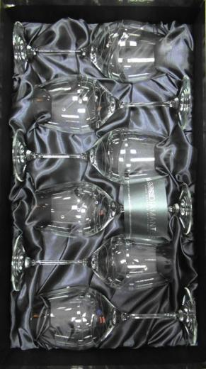 POHÁR Kalich Čaša 470 ml Swarovski Elements Diamante Glassware