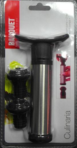 BANQUET Culinaria Vákuová pumpa na víno a nápoje + 2 zátky