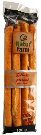 TYČINKY PIZZA / pizzové NATUR FARM 100g