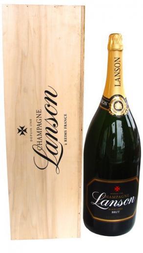 "LANSON Champagne Mathusalem Black Label obj. 6 L, ""šampanské"", Alk. 12% obj."