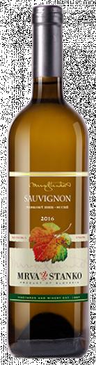 SAUVIGNON 2016 Mrva & Stanko vinárstvo Neskorý Zber suché víno, obj. 0,75 L, Alk.12 % obj.