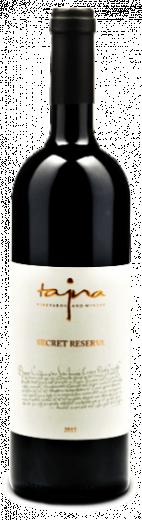 SECRET RESERVA Vinárstvo Tajna AOV suché víno červené, obj. 0,75 L, Alk. 13,5 % obj.