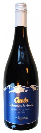 Čučoriedka a Arónia, Cuvée ovocné víno, obj. 0,75L, Alk. 12 % obj.