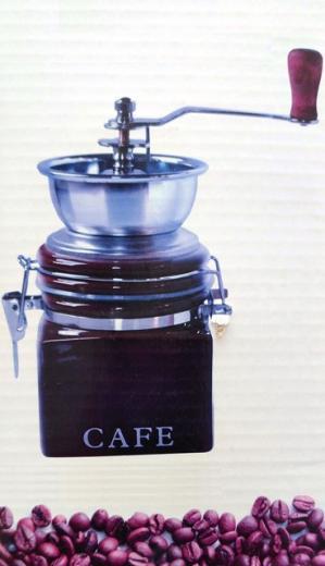 Mlynček na kávu ručný retro - Hand Coffee Grinder