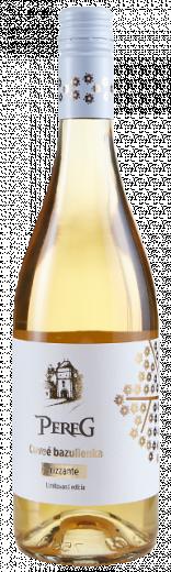 Cuvée BAZULIENKA Frizzante Pereg limitovaná edícia, obj. 0,75L, Alk. 11 % obj.