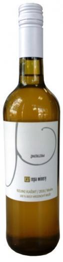 VYPREDANÉ - Rizling vlašský Repa Winery 100 % hroznový mušt, obj. 0,75L, Alk. 0 %