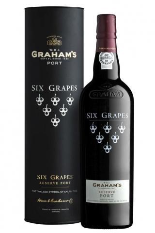 Grahams Six Grapes Porto - Portské víno červené obj. 0,75 L, Alk. 20 % obj.