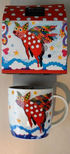 Maxwell & Williams porcelánový hrnček SMILE STYLE Prasiatko Pigasus 370 ml