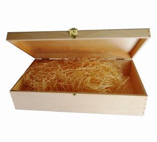 Krabica kazeta box obal darčekový na víno a destiláty na 2 fľaše