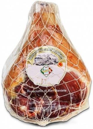 PROSCIUTTO Crudo di San Daniele 8 kg, šunka  - celý kus