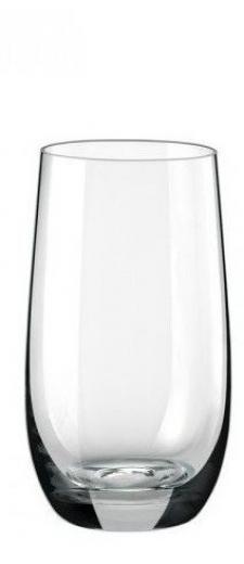 Pohár na vodu miešané nápoje 350 ml COOL, 6 kusov