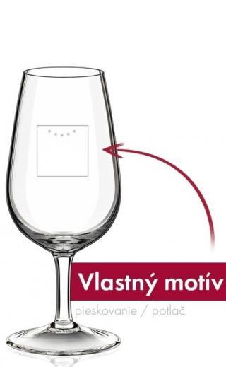 Kalich pohár 210 ml s vlastnou potlačou, logom - pieskovanie / sieťotlač