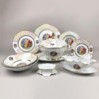 Porcelánová obedová súprava 26 dielna BERNADOTTE TRI GRÁCIE