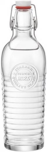 Fľaša na sirup, limonádu s kovovým patentom 1,2 l OFFICINA1825