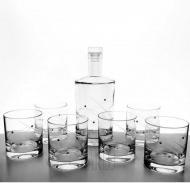 Whisky set - súprava - 7- dielna Swarovski® LINES