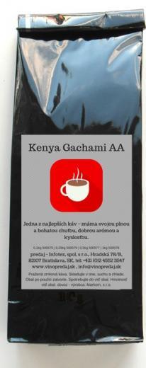 Kenya - Keňa pražená zrnková káva 100g Arabica