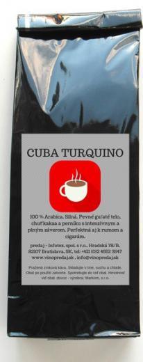 Cuba Turquino Extra káva pražená 250 g pražená Arabica