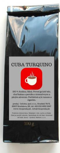 Cuba Turquino Extra káva 1kg pražená Arabica