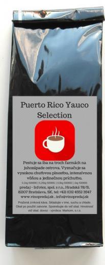 Puerto Rico Yauco Select pražená zrnková káva 100g Arabica