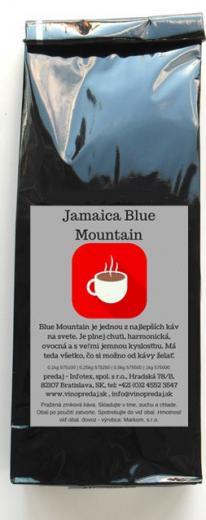 Jamaica Blue Mountain Flatben pražená zrnková káva 100g
