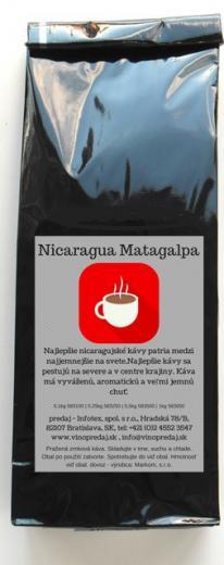 Nicaragua Matagalpa pražená zrnková káva 100g