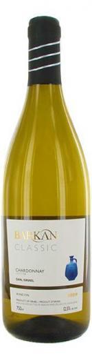 Chardonnay Barkan Classic Izrael , biele suché víno 0,75 L