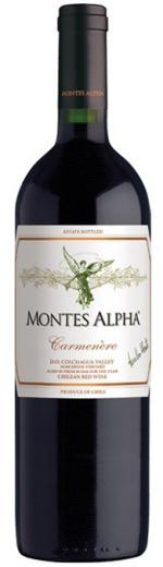 Carmenére Montes Alpha Vino Čile - Chile