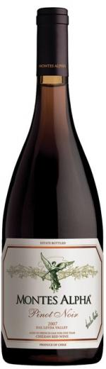 Pinot Noir Montes Alpha Vino Čile - Chile
