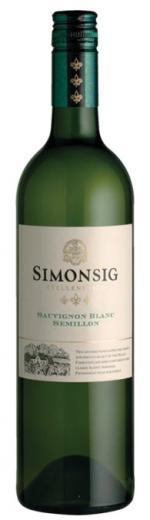 VYPREDANÉ - SAUVIGNON BLANC SEMILLON Simonsig vino Južná Afrika, obj. 0,75 L, Alk. 12 % obj.