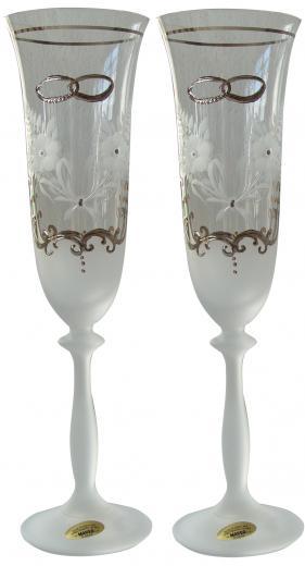 Svadobné poháre - sada 2ks