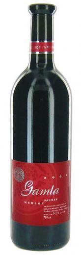 MERLOT Gamla Golan Heights Winery Israel, obj. 0,75 L., Alk. 14.5 % obj.