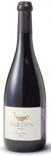 SYRAH - SHIRAZ YARDEN Galil Wine Israel Kosher, obj. 0,75 L, Alk. 15 % obj.