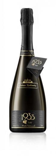 Sekt Prestige Cuvee 1933 Chateau Topoľčianky šumivé víno, obj. 0,75L, Alk. 12 % obj.